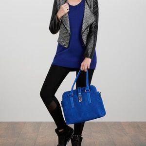 JustFab Cobalt Globetrotter Bag